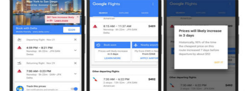 Google adds airfare forecasts and loyalty marketing