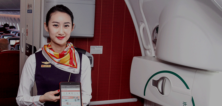 Hainan Airlines pioneers inflight payment via Alipay