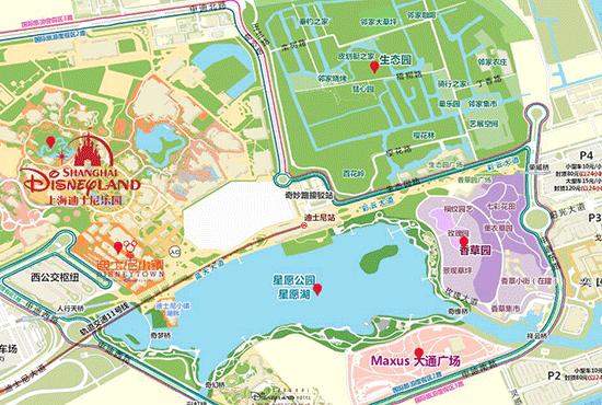 Shanghai plans water town complex near Disney zone