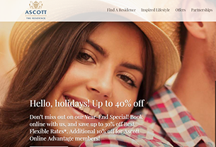 Ascott to expand in first- and second-tier cities for Chinese millennials