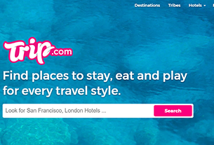 Ctrip to further global expansion by acquiring US travel site Trip.com