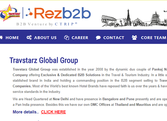 Ctrip's Tours4fun acquires stake in India B2B venture