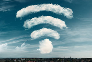 Wifi in the sky can generate loyalty (bandwidth permitting)