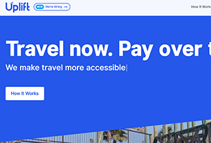 Uplift raises $123 million to broaden its travel loan services