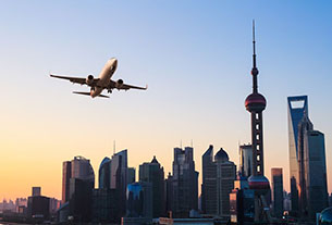 Shanghai's the spot: Half of China's top 10 busiest routes start here