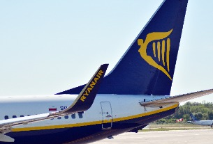 Ryanair is starting to hide its brand