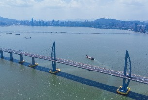 China to build tourism island project by Hong Kong-Zhuhai-Macao Bridge