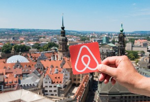 The Airbnb hosts earning millions through the rental platform