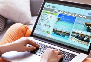 China's online vacation booking maintains upward momentum
