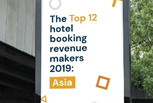 Airbnb, Trip.com rise on global top list of hotel channels