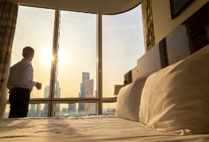 Mainland China's hotel industry data show early signs of recovery