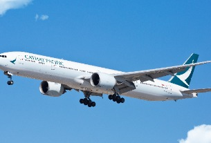 Cathay Pacific is flying into a $1.3 billion loss