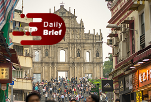 Macau has no guess on holiday visitors; China eyes full rebound of air travel | Daily Brief