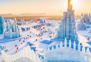 Harbin Ice and Snow Festival in China halted by new COVID-19 cases